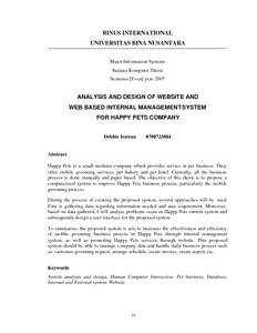 internal analysis of a company thesis Javkhlant ganbaatar bachelor thesis this work dealt with the financial analysis of a company external and internal users including lenders.